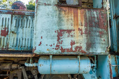 Old Railway Car Closeup 3 Royalty Free Stock Photos