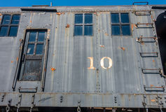 Old Railway Car Closeup 2 Stock Photos