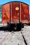 Old railway car Royalty Free Stock Photography