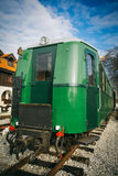Old railway carriage Stock Photo