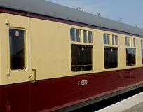 Old railway carriage detail Royalty Free Stock Image