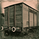 Old railway carriage Royalty Free Stock Photos