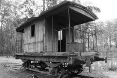 Old Railway Carriage Stock Photo