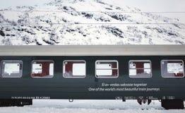 The old railway Flamsbana, Flam, Norway Royalty Free Stock Photo