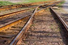 Old railway. Royalty Free Stock Photos