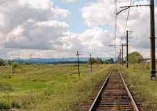 Old railway Stock Photography