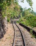Old railway line Royalty Free Stock Photos