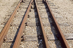 Old railway lines Stock Photography