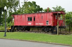 Old Railway Rolling stock Stock Photo