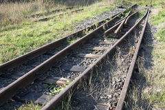 Old railway Royalty Free Stock Photo