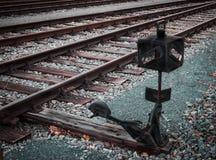 Old railway siding Royalty Free Stock Photo