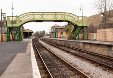 Old Railway Station at Corfe Royalty Free Stock Photos