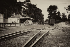 Old railway station Royalty Free Stock Photography