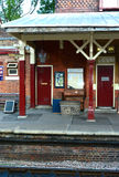 Old railway station Royalty Free Stock Image
