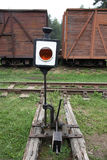 Old Railway Switch Royalty Free Stock Image