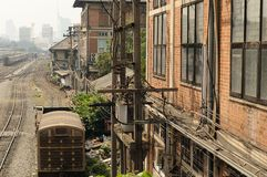 Old Railway in Thailand. Royalty Free Stock Images