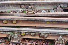 Old railway tracks Stock Image