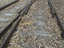 Old Railway Tracks Royalty Free Stock Photos