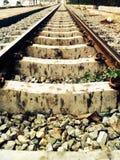 Old railway train transportation Royalty Free Stock Photography