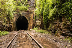 Old Railway tunnel Stock Photo