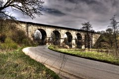 Old railway viaduct Royalty Free Stock Photography