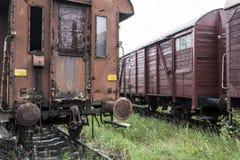 Old railway wagon Royalty Free Stock Photos