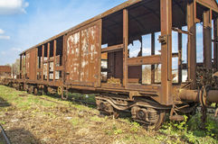 Old railway wagon Royalty Free Stock Photography