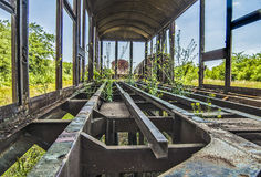Old railway wagon Royalty Free Stock Photo