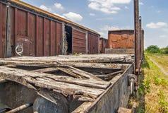 Old railway wagon Stock Image