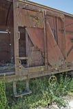 Old railway wagon Stock Photos