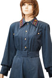 Old railway worker uniforms Royalty Free Stock Photo