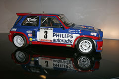 OLd rally car Stock Photography