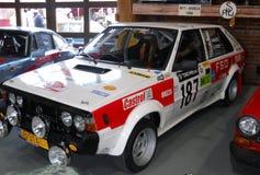 Old rally car, Polish FSO Polonez Royalty Free Stock Photo