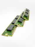 Old RAM modules stock photography