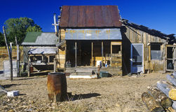 Old ramshackle dwelling Stock Photo