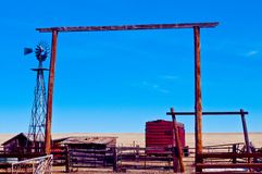 Old Ranch Stock Image