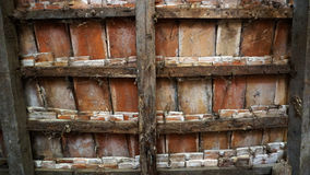 Old ranch tile texture Stock Images