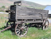 Old Ranch Wagon Royalty Free Stock Images
