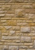 Old Random Block Wall (background) Royalty Free Stock Photography