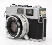 Old rangefinder camera Stock Photo