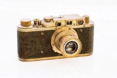 Old rangefinder camera Royalty Free Stock Photo