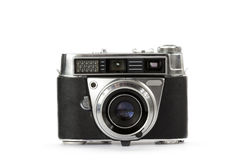 Old rangefinder vintage camera Royalty Free Stock Images