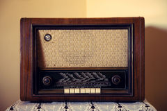 Old Rare Radio Stock Image