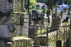 Old Rasu cemetery in Vilnius Stock Photo