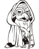 Old rat cartoon Stock Images