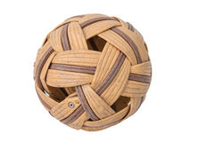 Old rattan ball Royalty Free Stock Photos