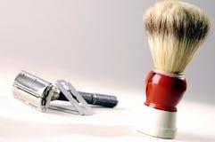 Old razor. Photo of very old razor Stock Photography