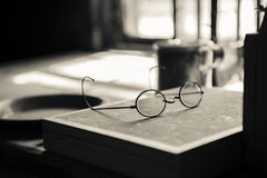 Old Reading Glasses Royalty Free Stock Images