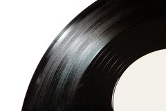 Old record disk close up Royalty Free Stock Photo