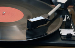 Old Record Player Stock Image